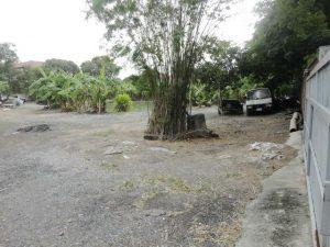 ภายในแปลงที่ดิน ซอยคู้บอน 27 ถมที่ดินไว้แล้ว พื้นที่ขนาด 1 ไร่ 274.9 ตารางวา ราคาถูก