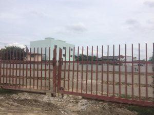 ด้านหน้าที่ดิน พื้นที่ขนาด 519 ตารางวา ซอยนนทบุรี 48 ถมที่ดินเสร็จแล้ว เจ้าของที่ขายเอง
