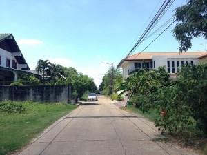 ถนนซอย หน้าที่ดิน 100 ตารางวา แจ้งวัฒนะ 14