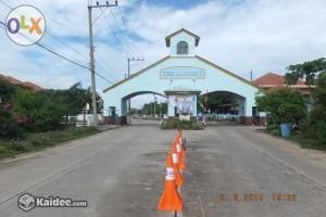สภาพหน้าหมู่บ้าน ของแปลงที่ดิน