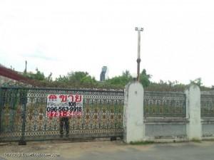ขายที่ดิน ถมดินแล้ว พื้นที่ 108 ตารางวา ราคาถูก
