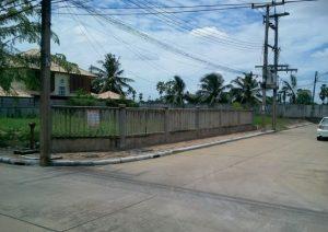 ขายที่ดิน ราคาถูก ถมดินแล้ว ขนาดพื้นที่ 104 ตารางวา ถนนปทุมธานี-บางคูวัด