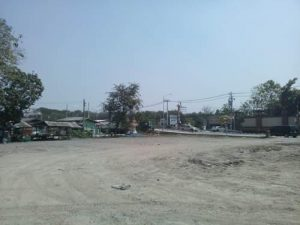 ขายที่ดิน ข้างถนนมัยลาภ เนื้อที่ 3 ไร่ 268 ตารางวา ถมดินเรียบร้อย ราคาถูก