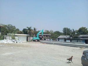 ขายที่ดิน ถมดินเรียบร้อย ถนนมัยลาภ เนื้อที่ 3 ไร่ 268 ตารางวา ราคาถูก