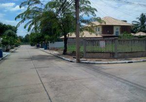 ขายที่ดิน ถนนปทุมธานี-บางคูวัด ขนาดพื้นที่ 104 ตารางวา ราคาถูก ถมดินแล้ว