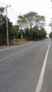 ถนนทางเข้าที่ดิน ถมดินเรียบร้อย แถวรังสิต ขนาด 100 ตารางวา