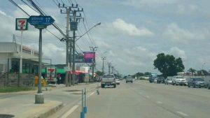 ถนนในซอย 4 เลน ถมดินทั้งแปลง ติดถนนสุขาภิบาล 2 ขนาด 9-2-10 ไร่