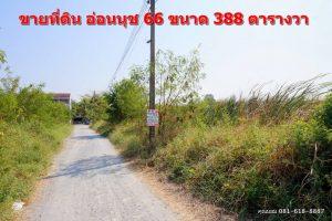 ที่ดินอ่อนนุช 66 ยังไม่ได้ถมดิน